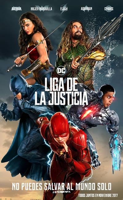 Resultado de imagen para Liga De La Justicia (2017)